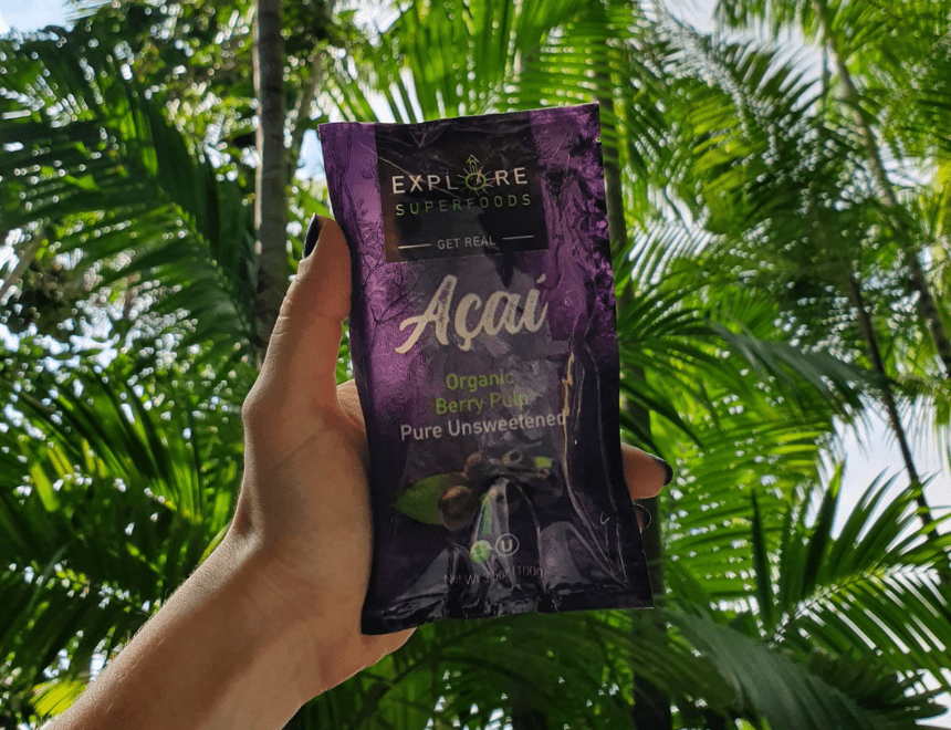 Explore Superfoods Acai - The Beauty Berry